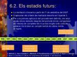 6 2 els estadis futurs