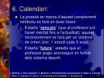 6 calendari