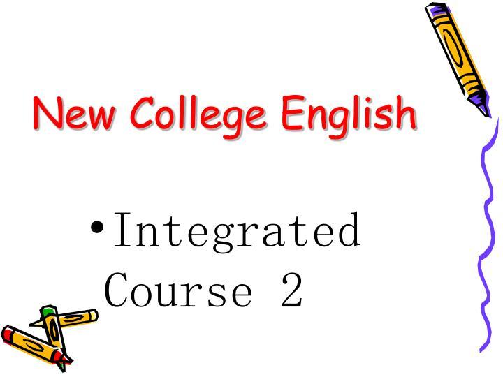 New College English