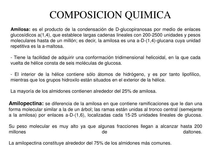 COMPOSICION QUIMICA