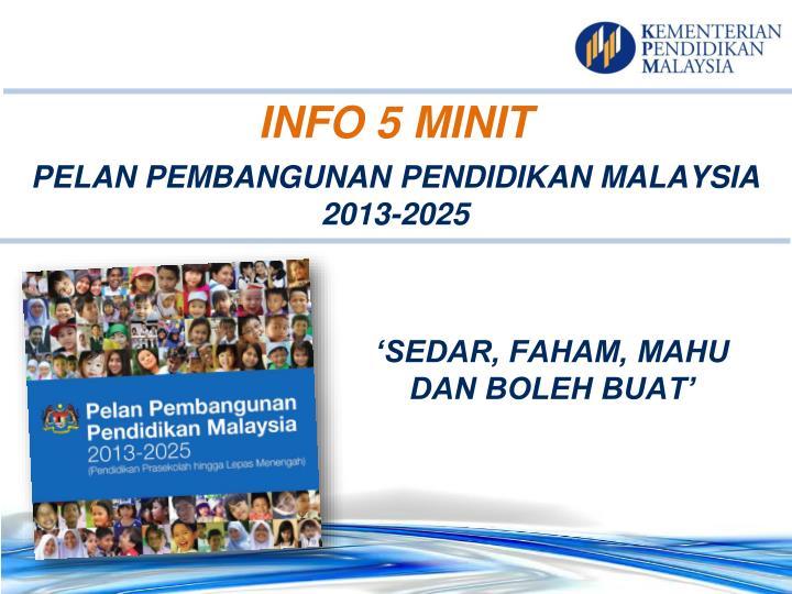 INFO 5 MINIT