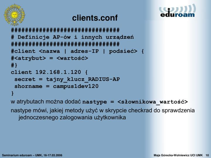 clients.conf