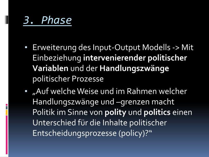 3. Phase