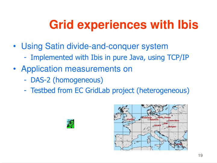 Grid experiences with Ibis