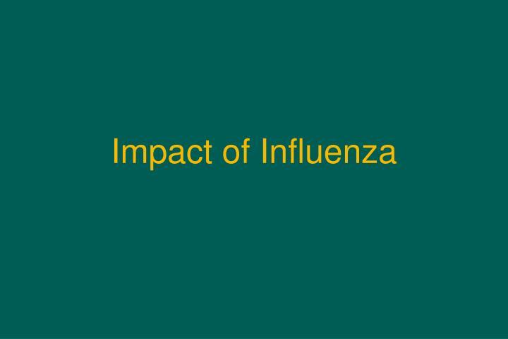 Impact of Influenza