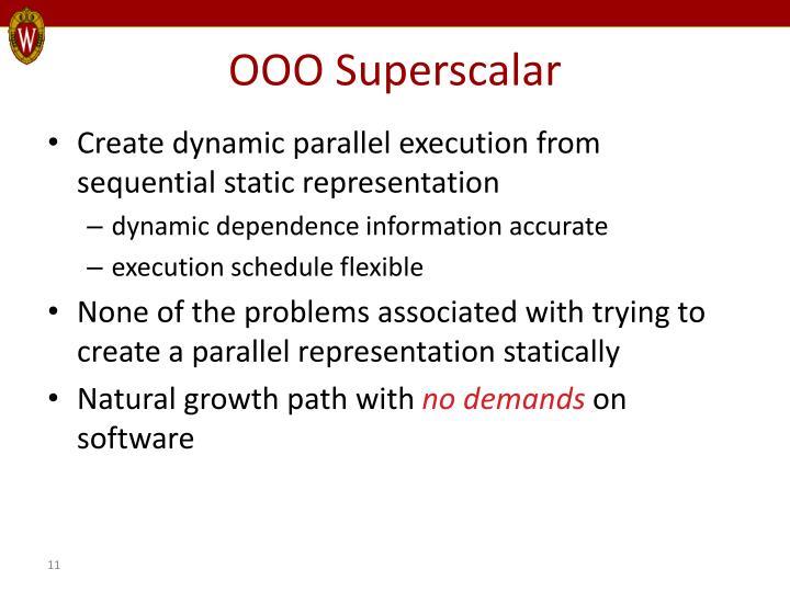 OOO Superscalar
