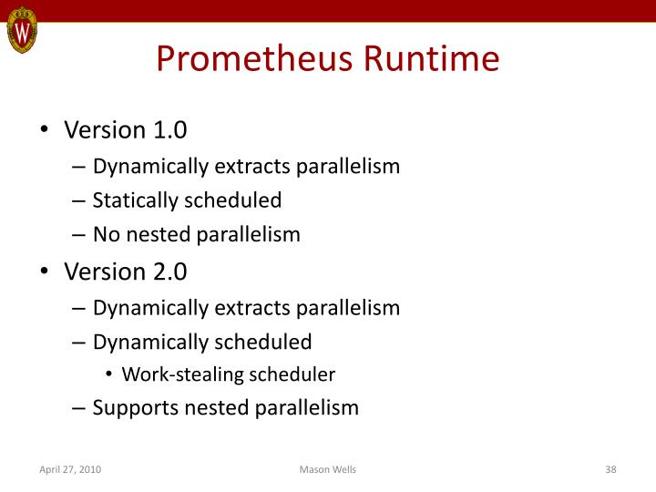 Prometheus Runtime