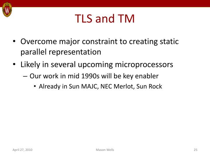 TLS and TM