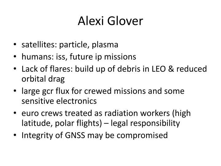 Alexi Glover