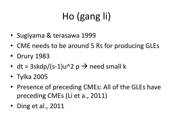 Ho (gang li)