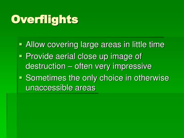 Overflights
