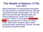 the wealth of nations 1776 adam smith