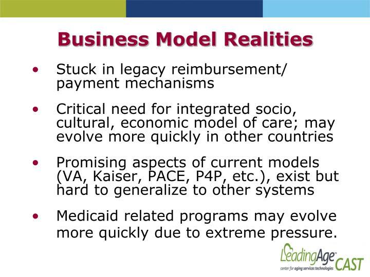Business Model Realities
