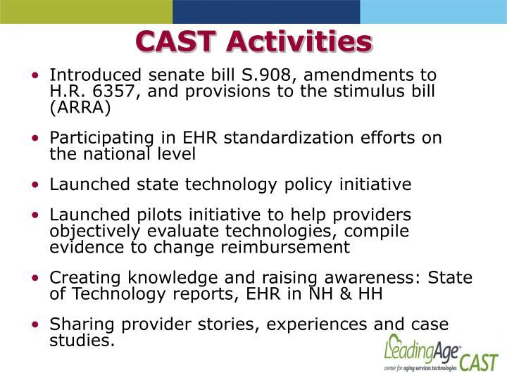 CAST Activities