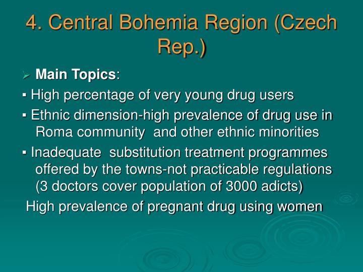 4. Central Bohemia Region (Czech Rep.)