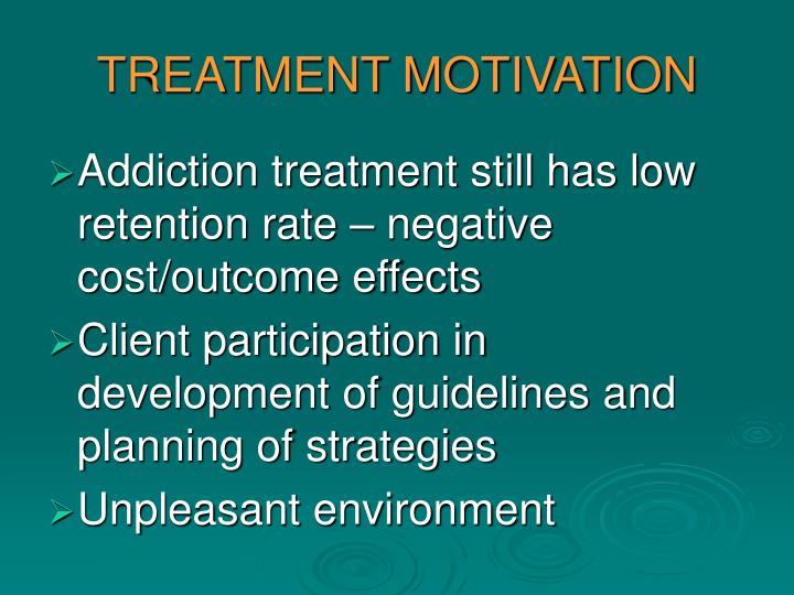 TREATMENT MOTIVATION