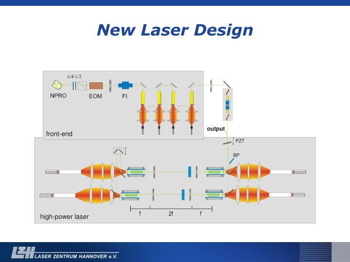 New Laser Design