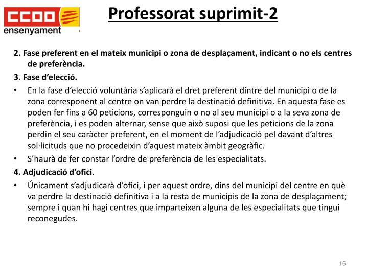 Professorat suprimit-2