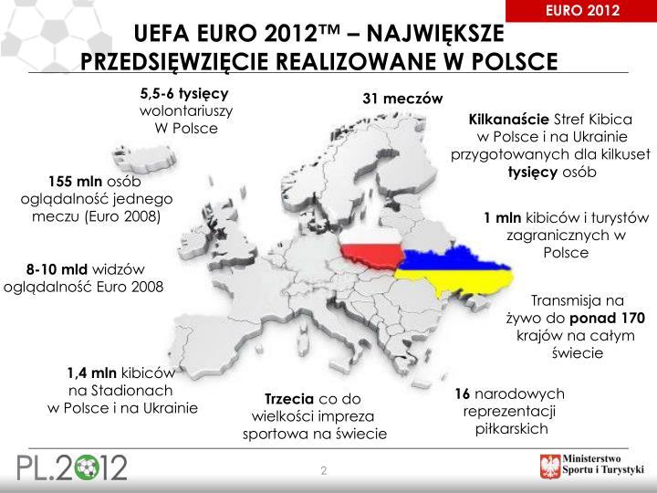 Uefa euro 2012 najwi ksze przedsi wzi cie realizowane w polsce