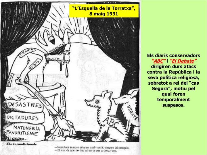 """""""L'Esquella de la Torratxa"""", 8 maig 1931"""