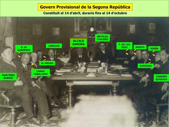 Govern Provisional de la Segona República