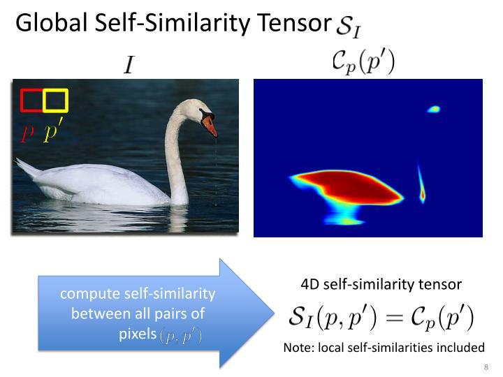 Global Self-Similarity Tensor