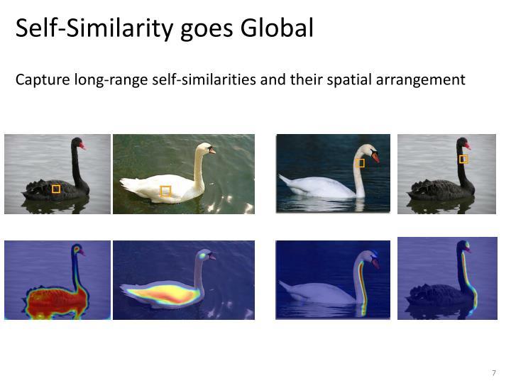 Self-Similarity goes Global