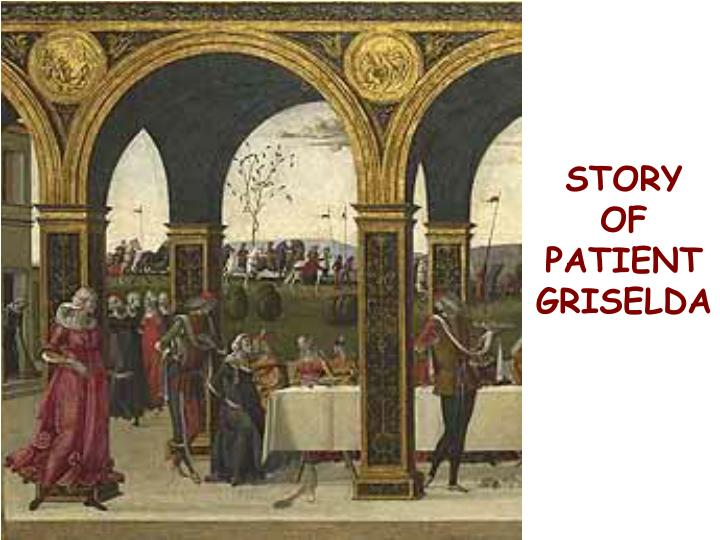 STORY OF PATIENT GRISELDA