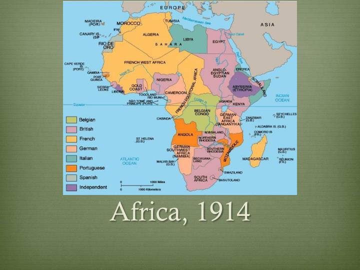 Africa, 1914