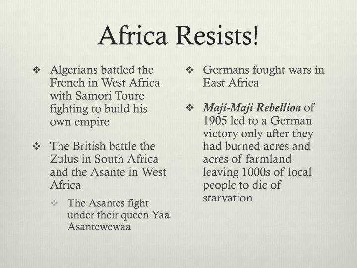 Africa Resists!