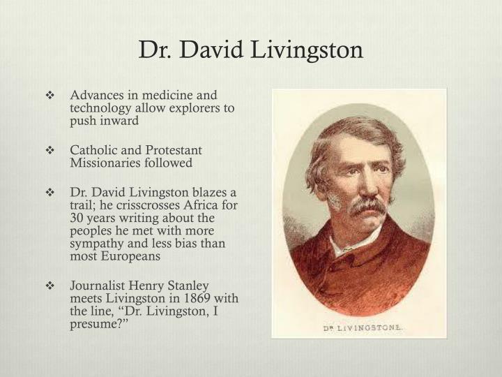Dr. David Livingston