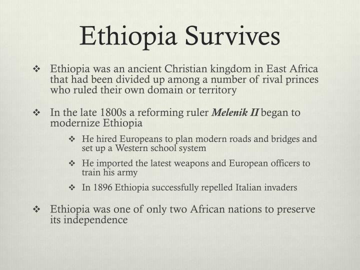 Ethiopia Survives
