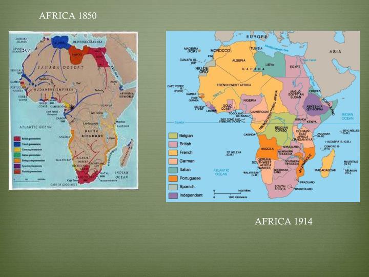 AFRICA 1850