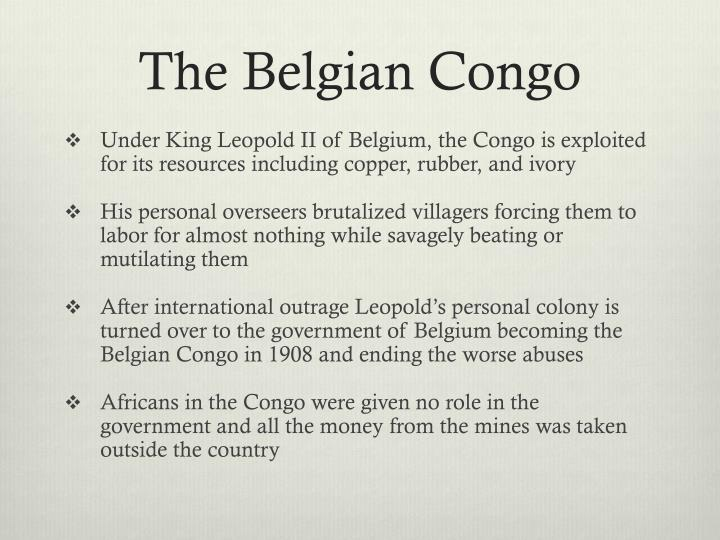 The Belgian Congo