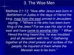3 the wise men