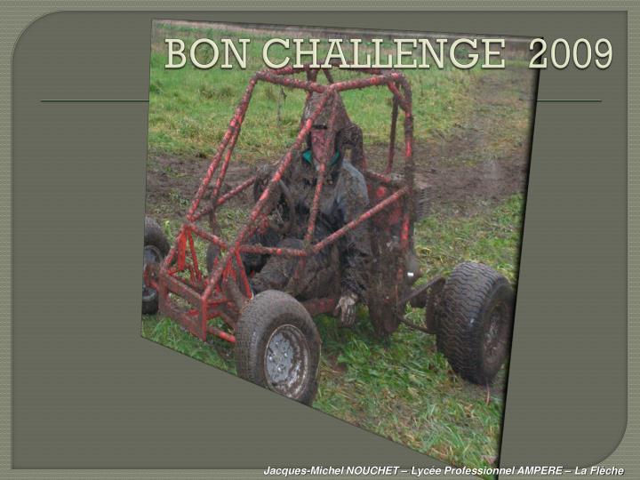 BON CHALLENGE  2009