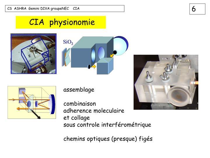 CIA  physionomie