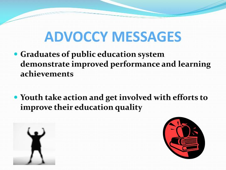 ADVOCCY MESSAGES
