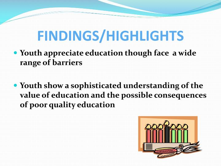 Findings highlights1