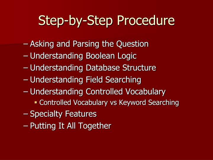 Step-by-Step