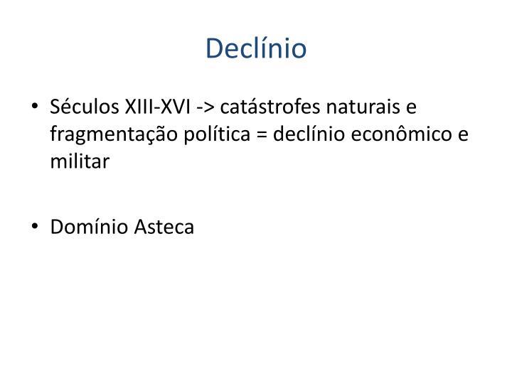 Declínio