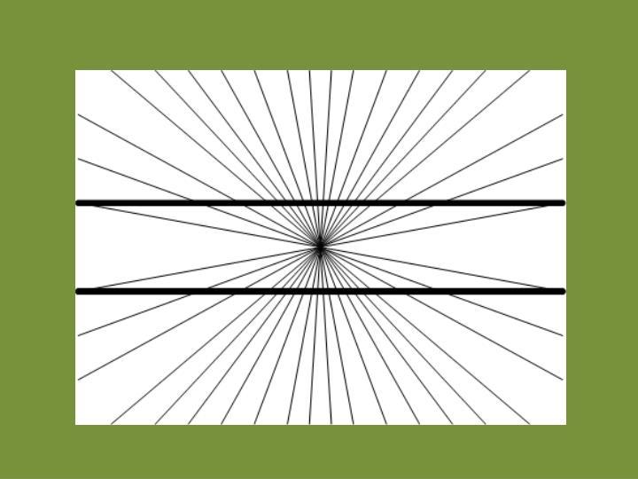 Optische t uschungen gerade und parallel