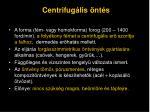centrifug lis nt s