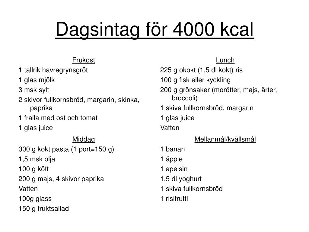 1 dl kokt ris kalorier