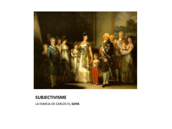 Subjectivisme