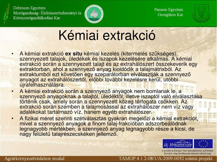 K miai extrakci