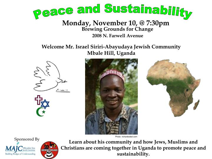 Peace and Sustainability