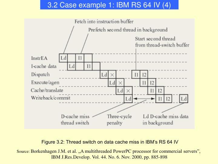 3.2 Case example 1: IBM RS 64 IV (4)