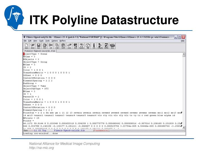 ITK Polyline Datastructure