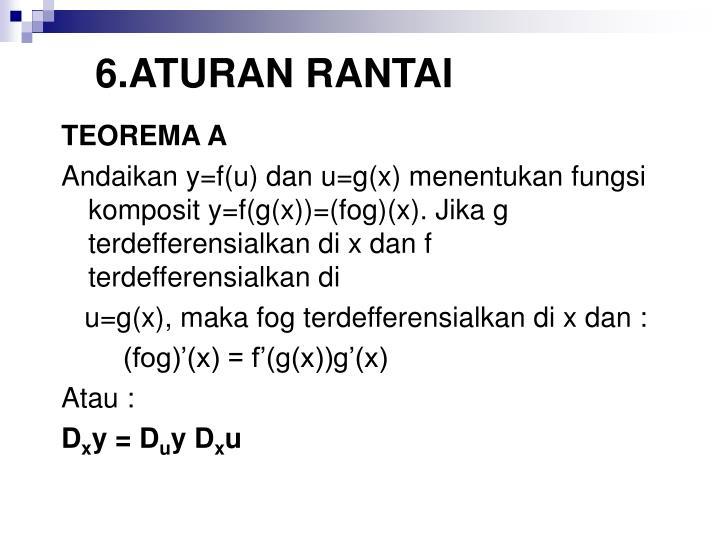6.ATURAN RANTAI
